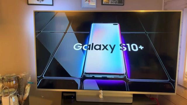 Canal norueguês partilha publicidade do Galaxy S10 da Samsung
