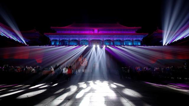 A Cidade Proibida abriu ao público à noite 94 anos depois