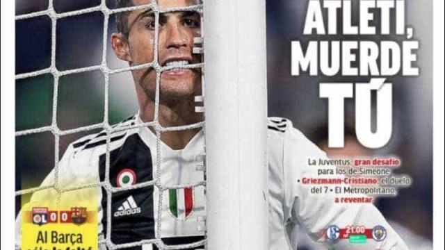 Lá fora: Todos os olhos vão estar em Ronaldo e em... Madrid