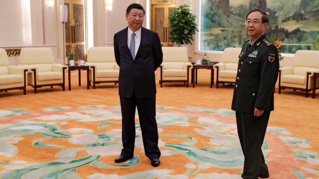 General chinês condenado a prisão perpétua por corrupção