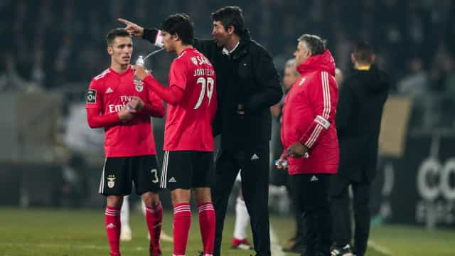 """Grimaldo: """"Bruno Lage é um treinador feito à medida do clube"""""""