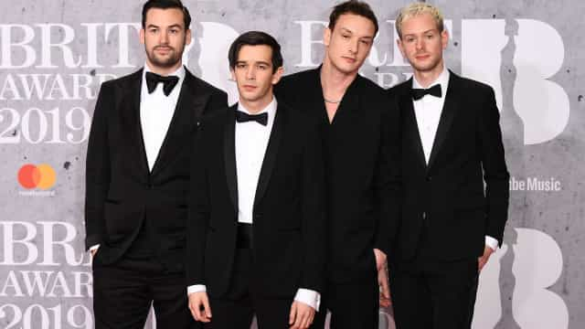 The 1975 e Calvin Harris duplamente premiados nos Brit Awards