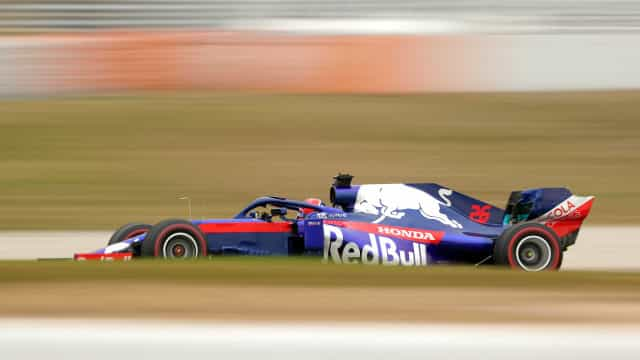 Então, Mercedes? Toro Rosso e Alfa Romeo lideram tempos