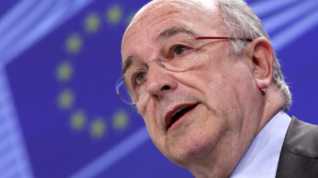 Grécia: Centeno nomeia Almunia como avaliador de programa de assistência
