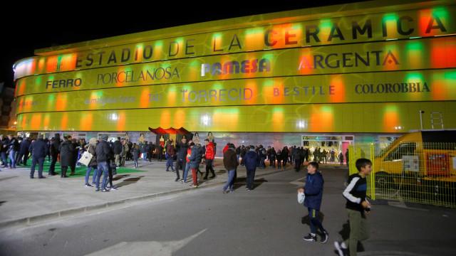 Villarreal-Sporting: Já há onzes em Espanha