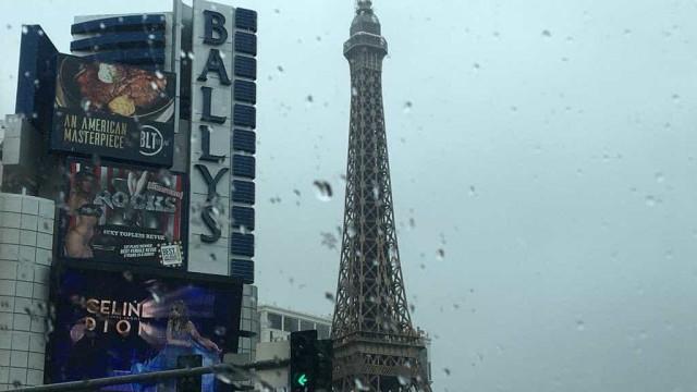 Tempestades de inverno provocaram nevão raro em Las Vegas. Ora veja