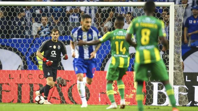 Em direto: Tondela-FC Porto