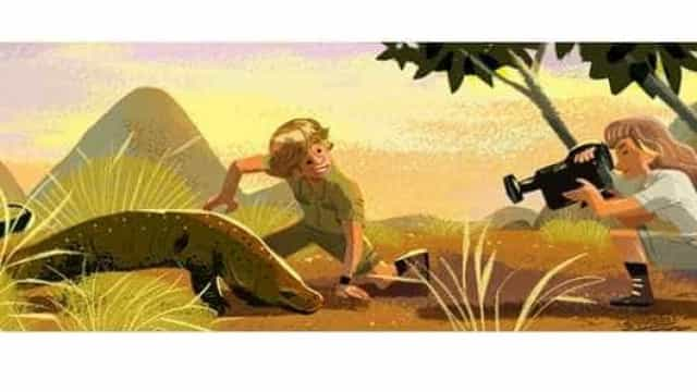 PETA envolta em polémica após criticar Google Doodle de Stephen Irwin