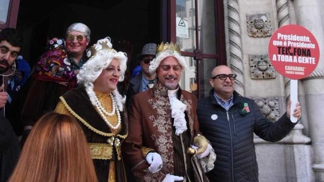 Lisboa foi invadida. A culpa é dos foliões do Carnaval de Torres Vedras