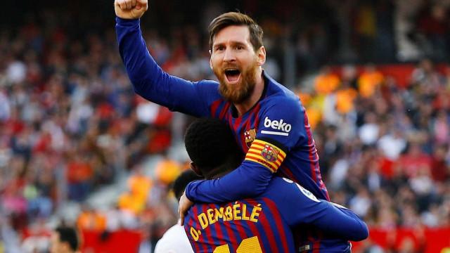 Sevilla bem queria regressar às vitórias, mas quem tem Messi... tem tudo