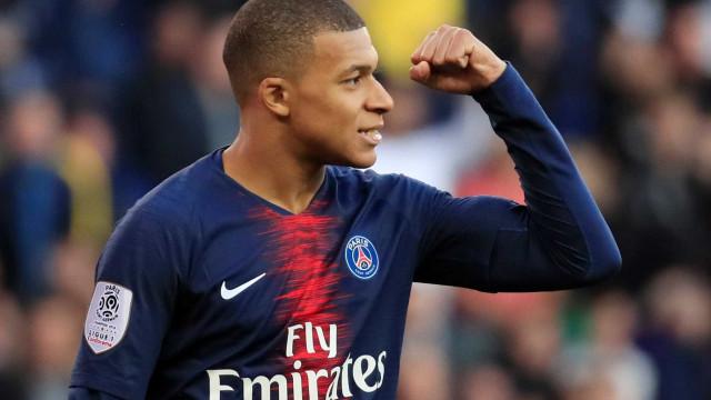 Mbappé já garantiu um lugar na história da Ligue 1