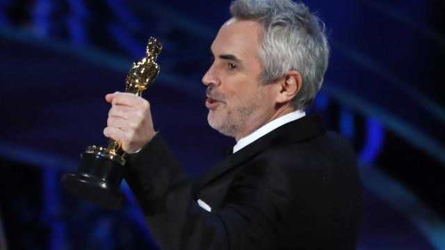 Óscar de melhor filme estrangeiro para 'Roma' de Alfonso Cuarón