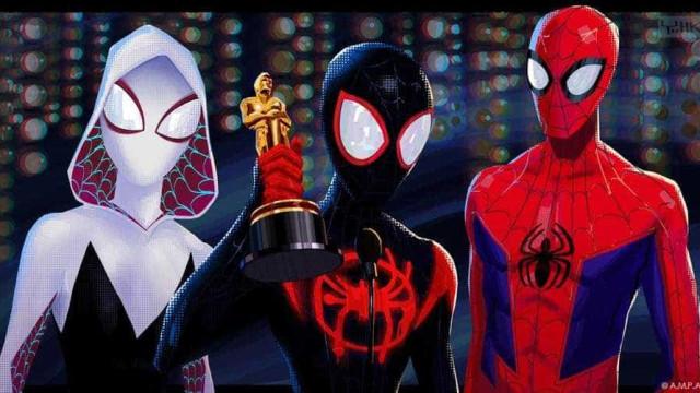Homem-Aranha lançou a teia e apanhou o Óscar de Melhor Filme de Animação