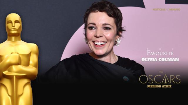 Olivia Colman surpreende e vence o Óscar de Melhor Atriz