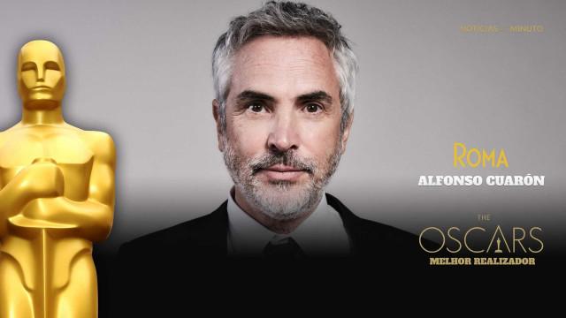 Alfonso Cuarón ganha pela segunda vez o Óscar de Melhor Realizador