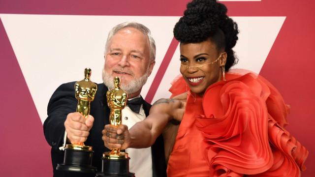 Europeia e afro-americana estreiam-se com Óscares nas categorias técnicas