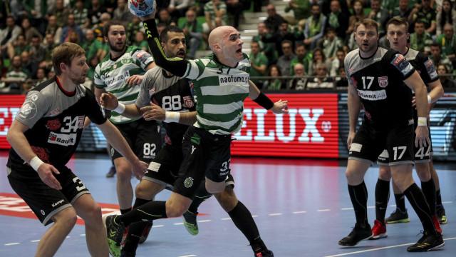 Histórico: Sporting está nos oitavos de final da Champions de andebol