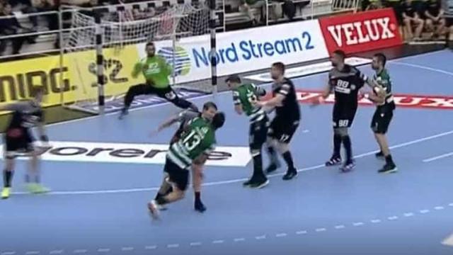 Incrível golo de Frankis Carol na vitória histórica do Sporting