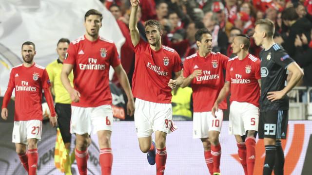 Um triunfo a 'Ferro's. Benfica está nos quartos de final da Liga Europa