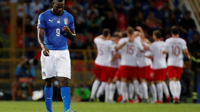 Balotelli não está suficientemente em forma para o selecionador italiano
