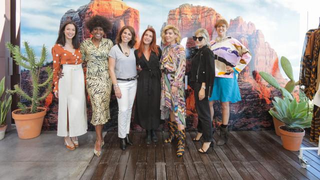 Raquel Strada sempre atenta às tendências do mundo da moda