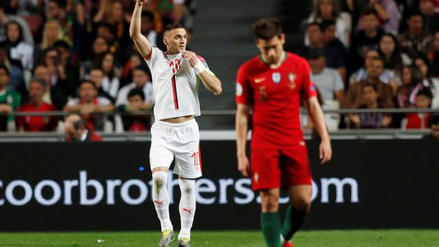 [1-1] Portugal-Sérvia: Danilo marca golaço e empata a partida
