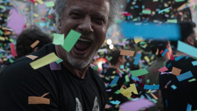 Famosos reúnem-se para 'cantar os parabéns' ao Rock In Rio