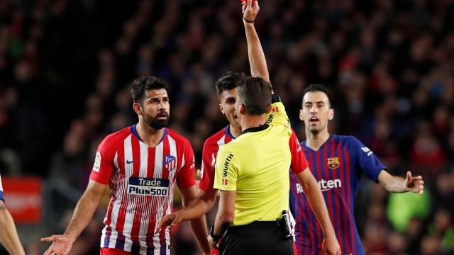 Marca: Diego Costa não joga mais esta temporada