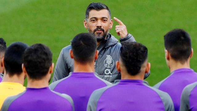 FC Porto em alerta amarelo: Cinco jogadores em risco