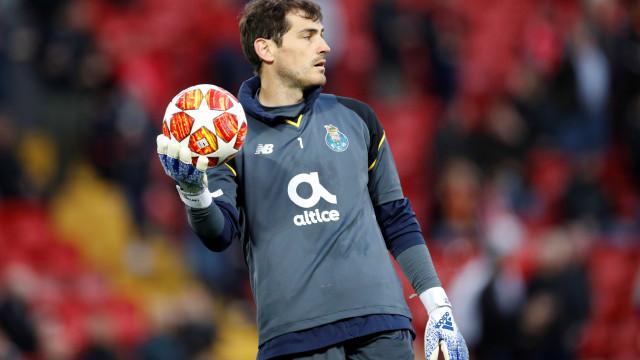 """""""Casillas gostaria de voltar à seleção espanhola"""""""