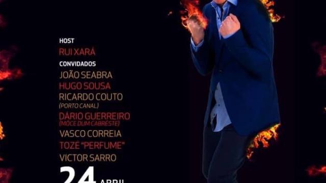 Roast Miguel 7 Estacas: Sá da Bandeira volta a receber noite de comédia