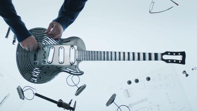 Engenheiros dizem ter criado guitarra indestrutível