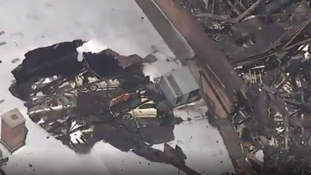 Uma das maiores coleções mundiais da Porsche foi destruída numa explosão
