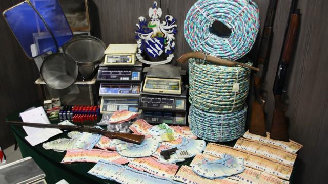 GNR detém cinco membros de rede criminosa que vendia meixão para Ásia