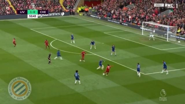 Salah marca um dos golos do ano no Liverpool-Chelsea