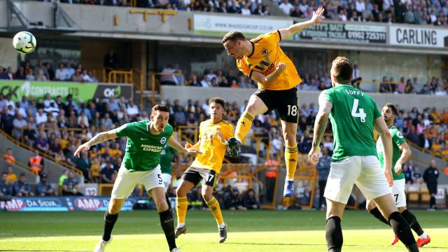 Wolves de Nuno empata em casa e 'perde' sétimo lugar