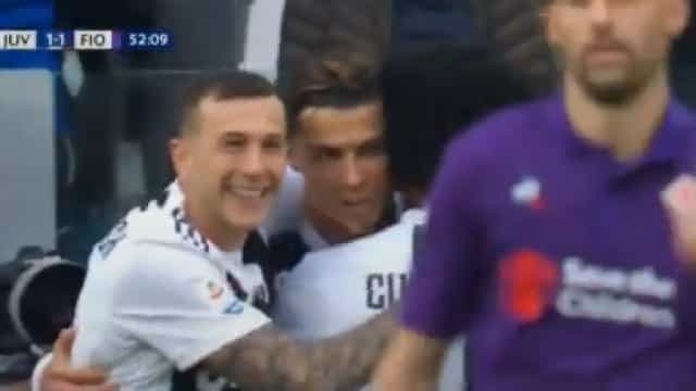 Juventus vira o resultado com contributo de Cristiano Ronaldo