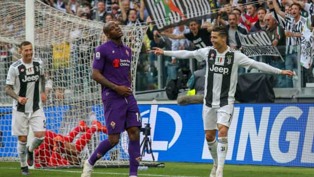 A Champions já é passado. CR7 e Juve sagram-se campeões em Itália