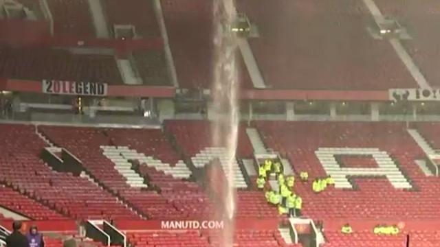 Tempestade em Old Trafford e problema nas bancadas antes do United-City