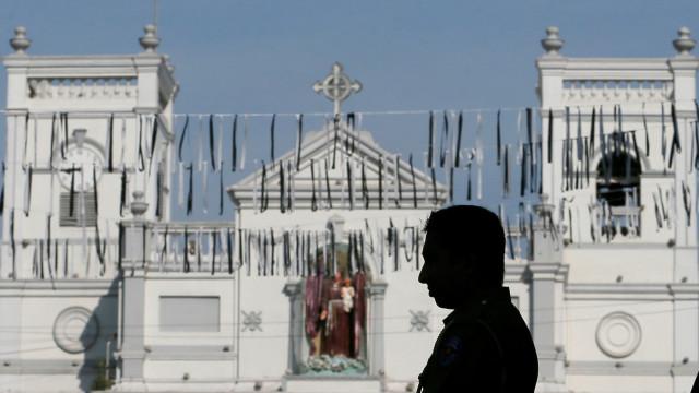 Sri Lanka: Missas foram canceladas e mesquitas estão a ser vigiadas