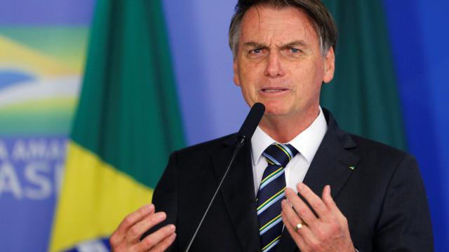 """""""Dizer que se passa fome no Brasil é uma grande mentira"""", diz Bolsonaro"""