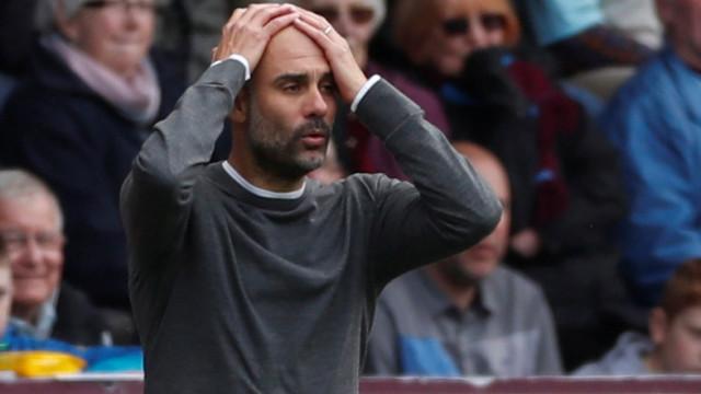 """O duro aviso de Guardiola: """"Quem não estiver contente que vá embora"""""""