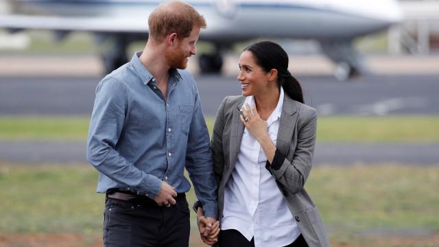 Elton John e Ellen Degeneres defendem Meghan Markle e príncipe Harry