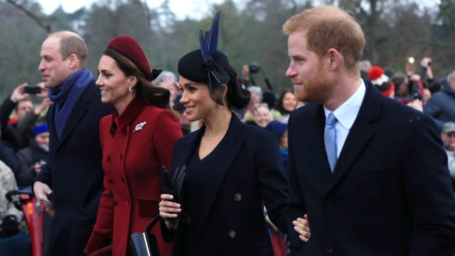 Fotos de Meghan Markle e Kate Middleton terão sido 'combinadas'