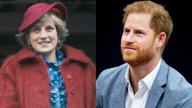 Há um membro da família da princesa Diana que já viu o filho de Harry