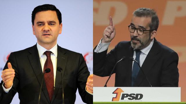 Paulo Rangel e Pedro Marques trocam acusações sobre fundos e sanções