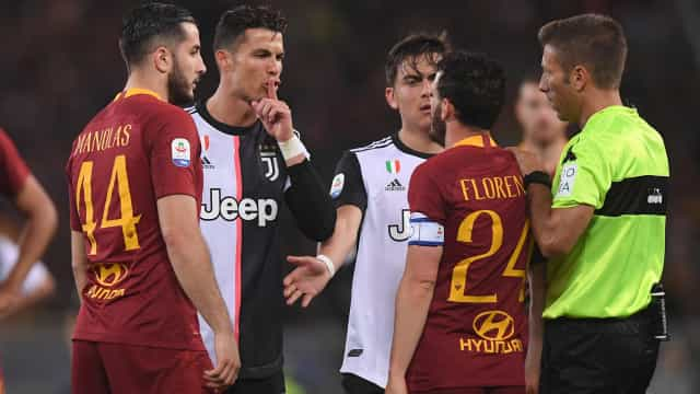 "Florenzi critica CR7: ""É Bola de Ouro e pensa que pode fazer o que fez"""