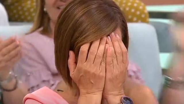 Fátima Lopes 'lavada em lágrimas' com surpresa dos pais