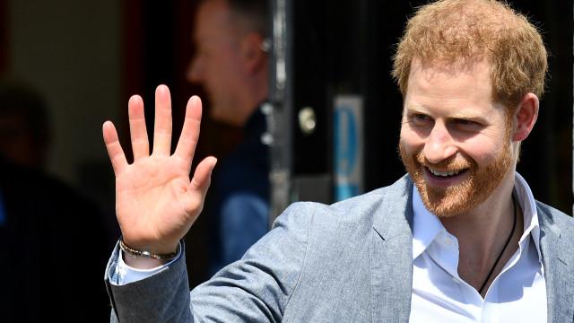As palavras carinhosas do príncipe Harry acerca do filho
