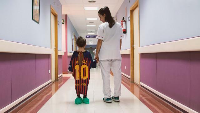 A sublime iniciativa do Hospital de Madrid com as suas crianças